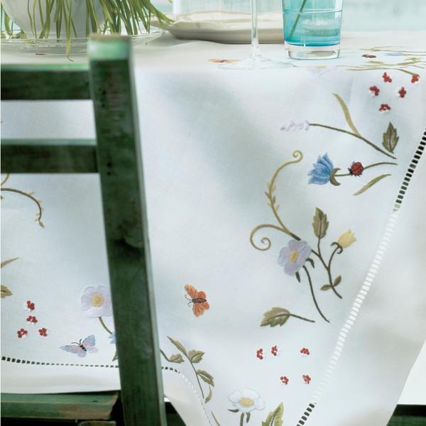 """Eri Textiles Leinentischwäsche """"Blumenwiese"""""""