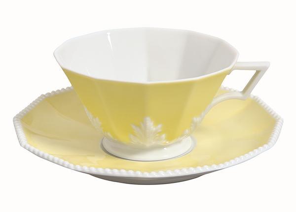 "Nymphenburg ""Perl"" gelb"