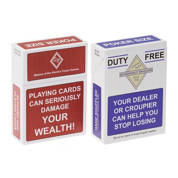 "Geoffrey Parker Pokerkarten-Sets ""Cigarette"""