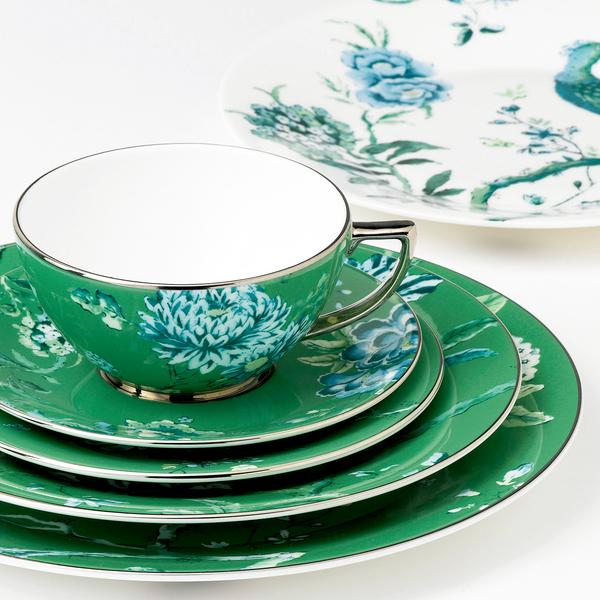 & Wedgwood Jasper Conran - Chinoiserie Green Dinnerware | Artedona.com