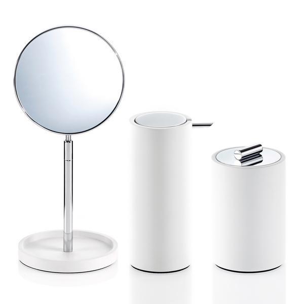 Decor Walther Stone Bathroom Accessories White Artedona Com