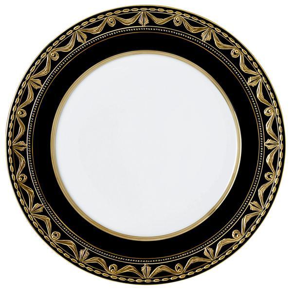 kpm kurland royal noir platzteller porzellan. Black Bedroom Furniture Sets. Home Design Ideas