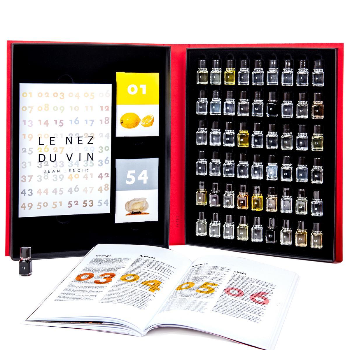 Le Nez du Vin, 54 Aromen