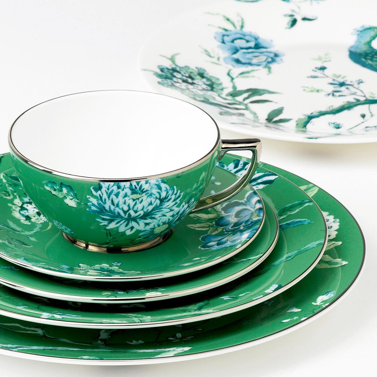 wedgwood jasper conran chinoiserie green dinnerware. Black Bedroom Furniture Sets. Home Design Ideas