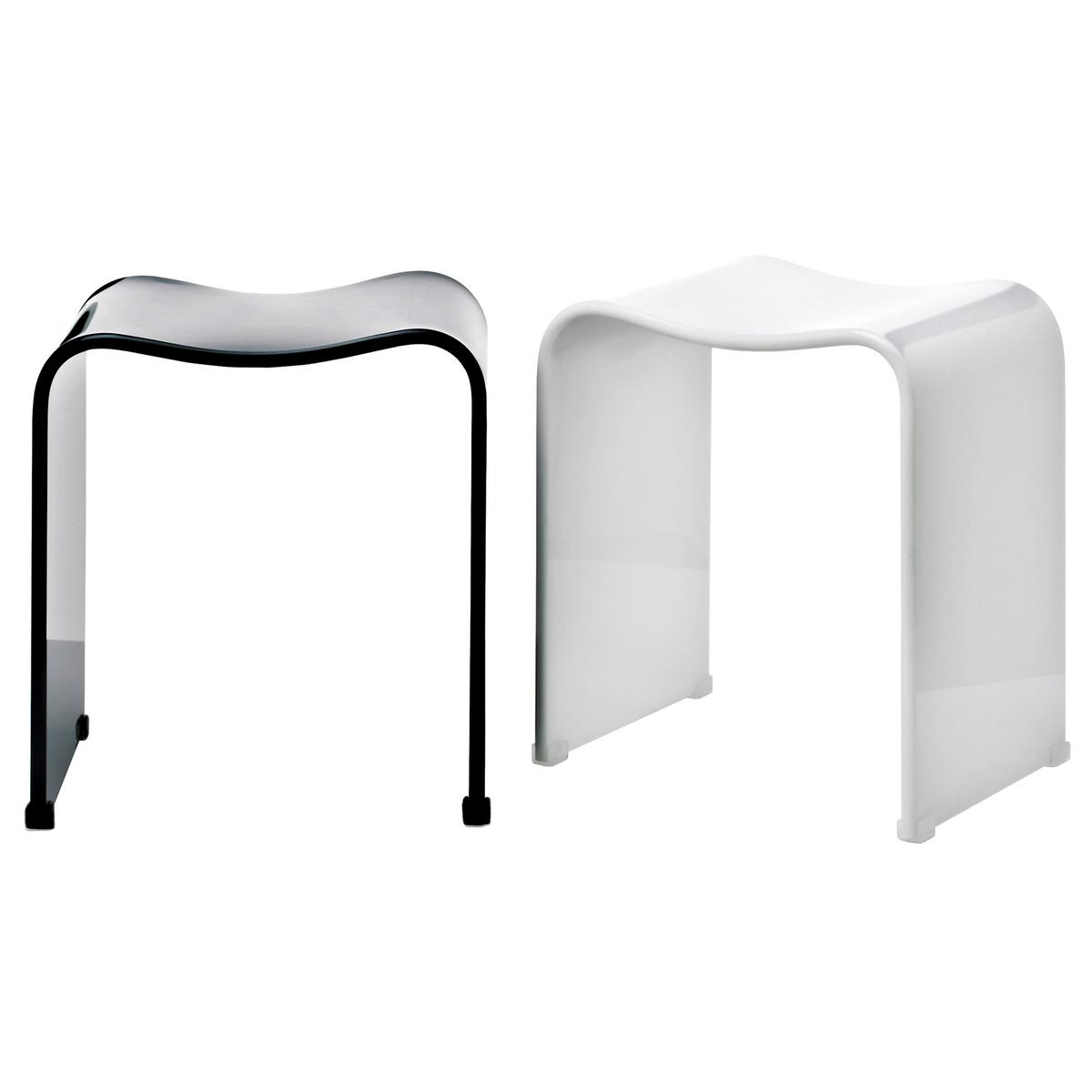 Decor Walther Wave shower stools | Artedona.com: https://www.artedona.com/en/Bed-Bath/Bath-accessories/Decor-Walther...