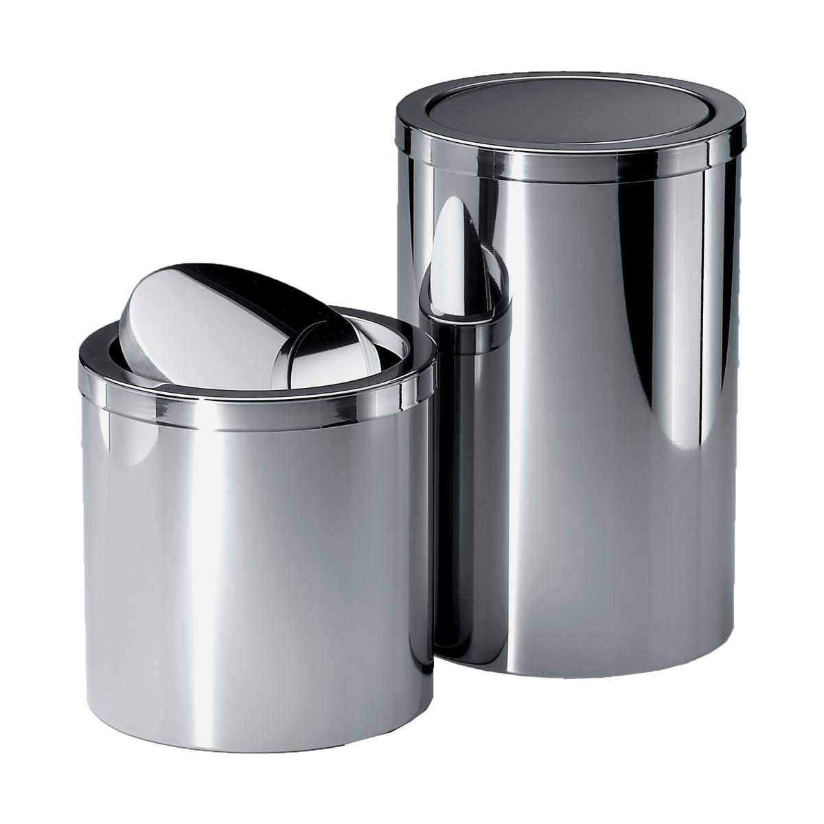 Decor Walther Bathroom Bins With Revolving Cover