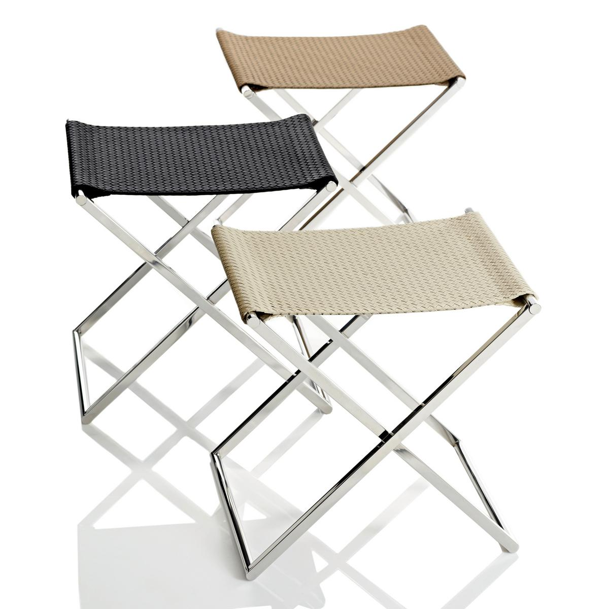 Riviere Milano Luggage Racks Folding Stools