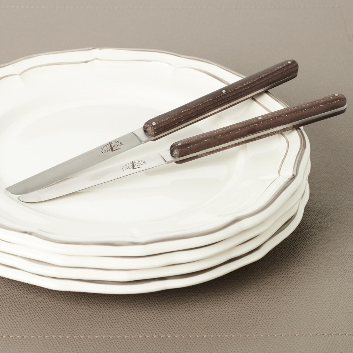 "Tafel-/Steakmesser ""Andrée Putman"", mit Eschenholzgriff"