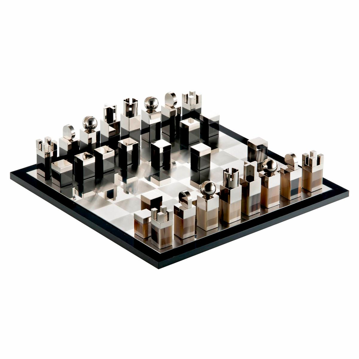 Contemporary Chess Set arcahorn architettura chess set | artedona