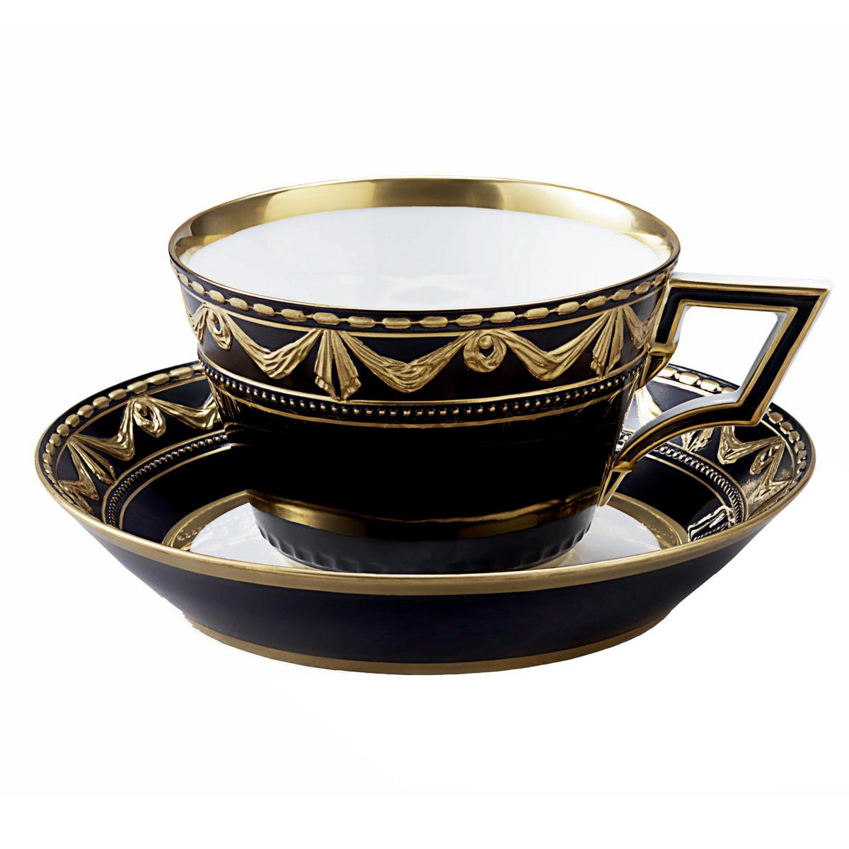 kpm kurland royal noir office cup and saucer. Black Bedroom Furniture Sets. Home Design Ideas
