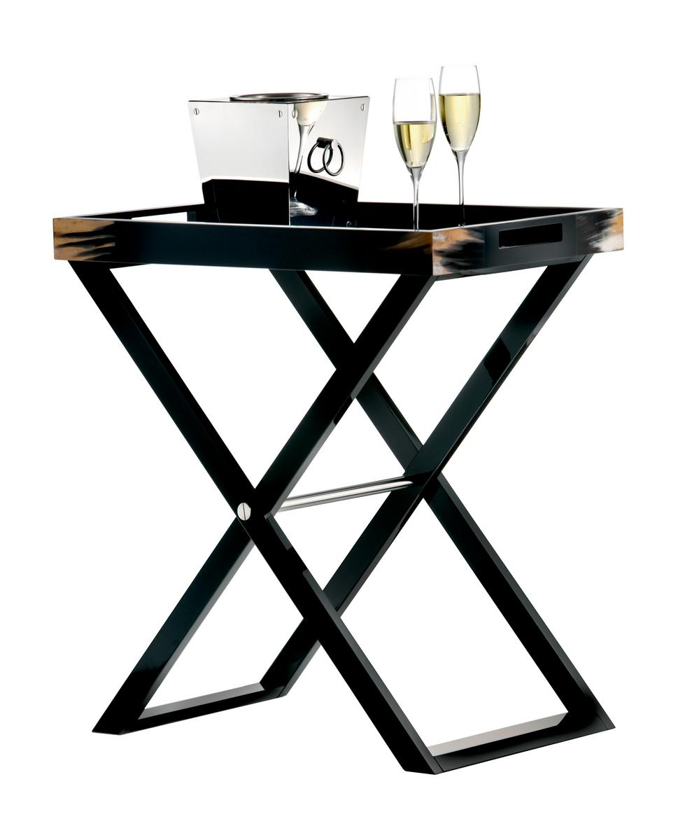 Butler Tray Table Black By Arcahorn