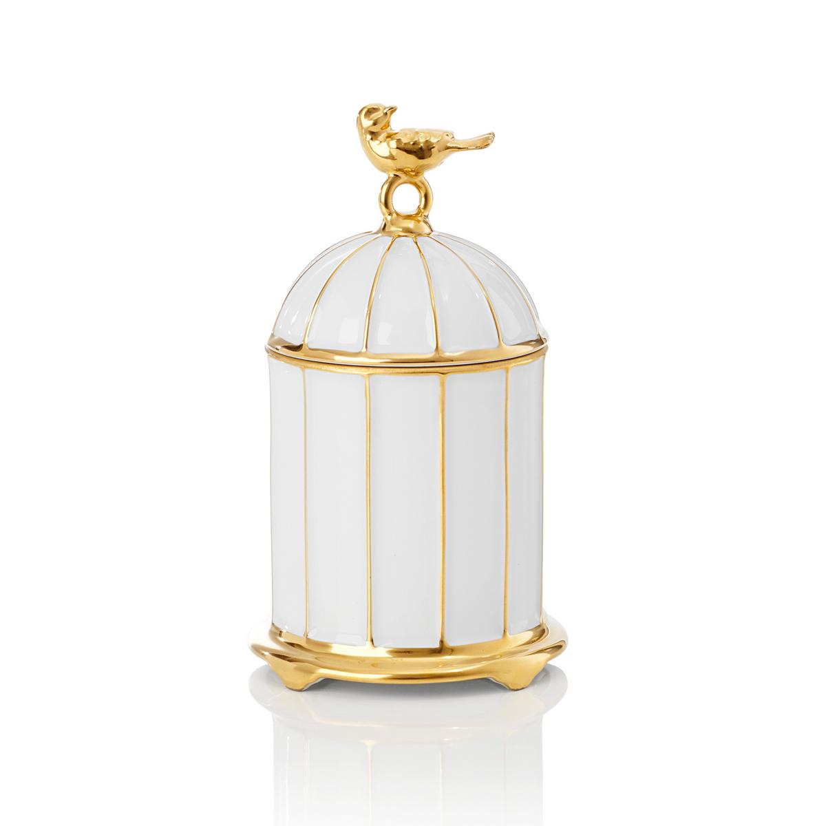L 39 Objet Bird Cage Scented Candle