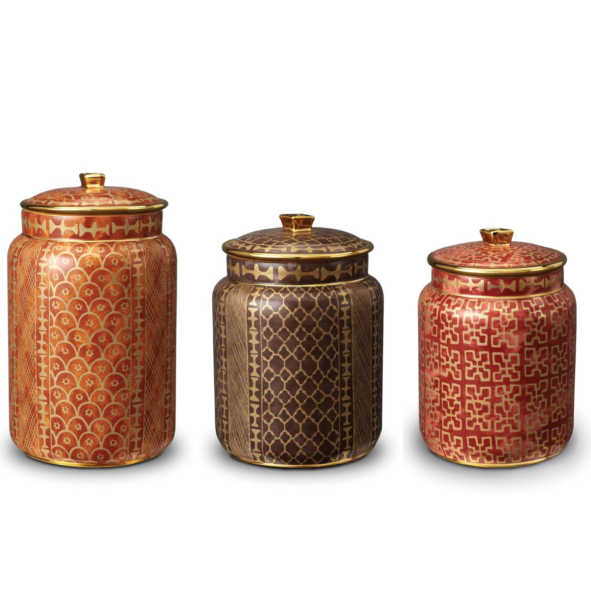 L 39 Objet Fortuny Canisters