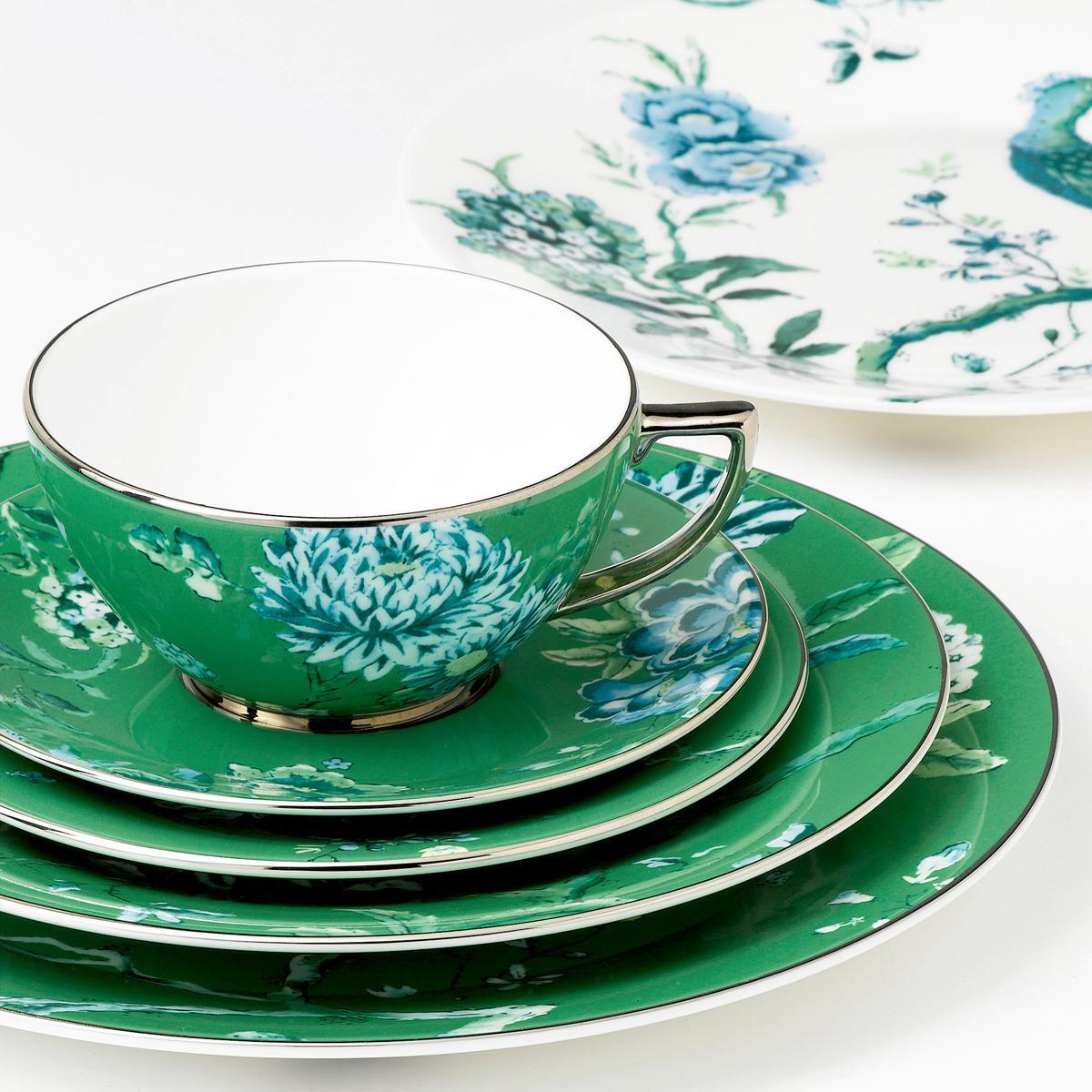 & Wedgwood Jasper Conran - Chinoiserie Green Dinnerware   Artedona.com