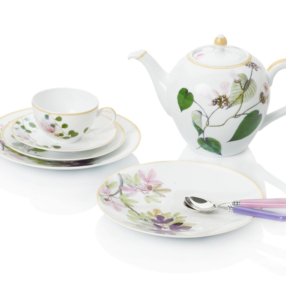 Bernardaud jardin indien dinnerware - Table jardin kettal limoges ...