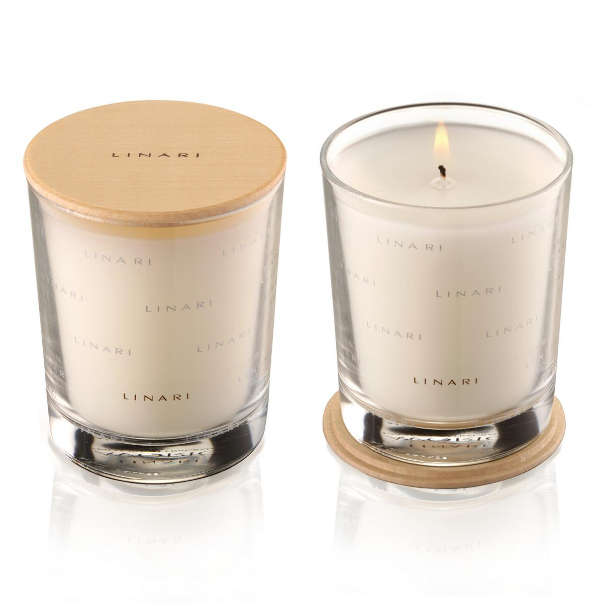 Linari rubino scented candle for Best scented candle brands