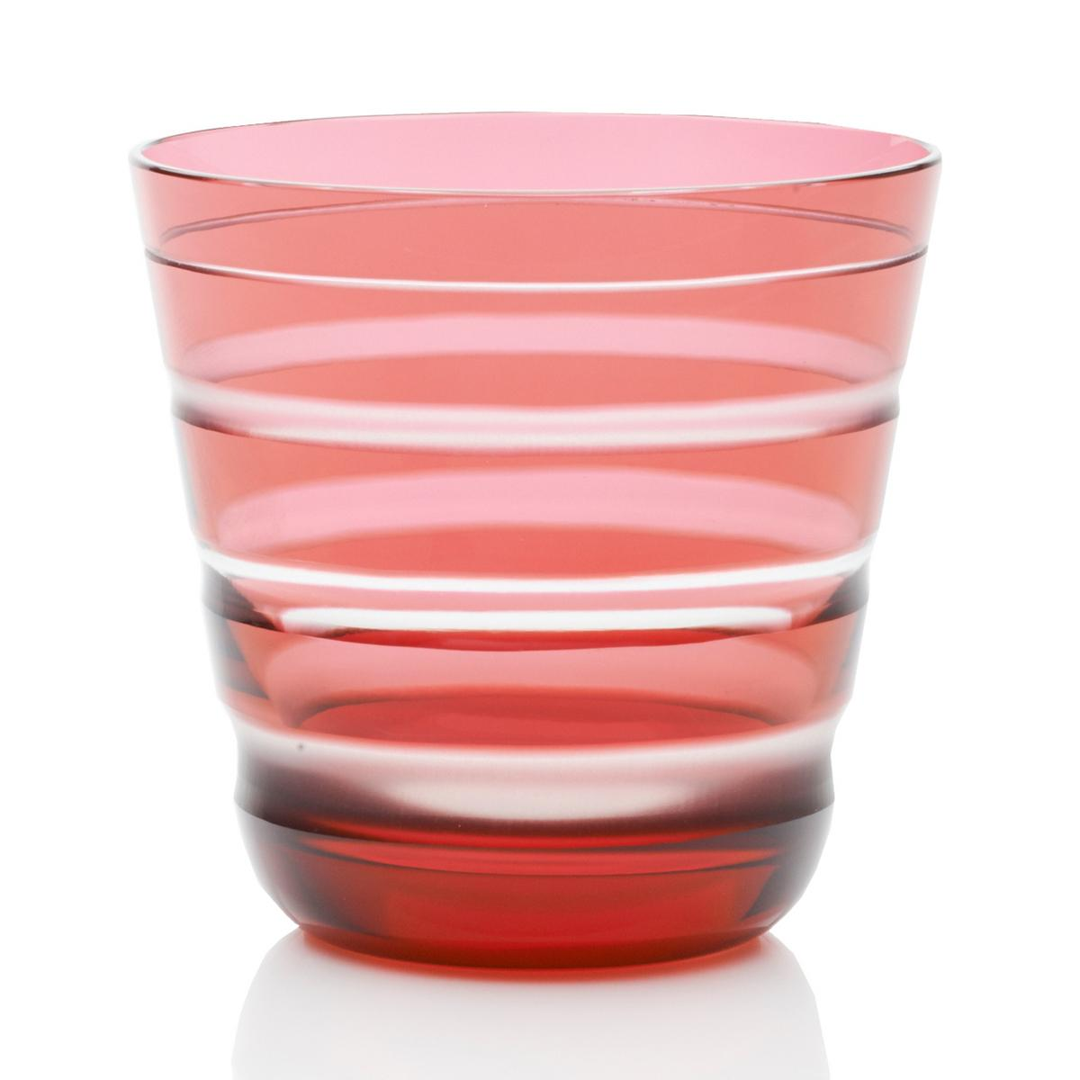 Rotter Glas rotter glas lineal no 103 tumbler size m pink artedona com