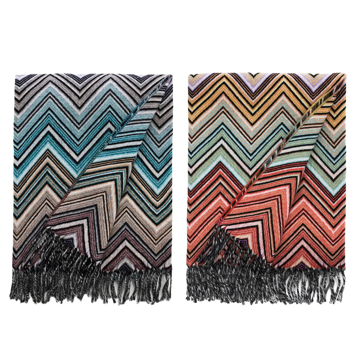 Missoni Home Throw: Missoni Home Perseo Blankets
