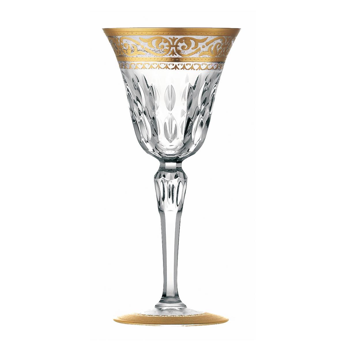 saint louis glas stella dekor gold nr 2. Black Bedroom Furniture Sets. Home Design Ideas