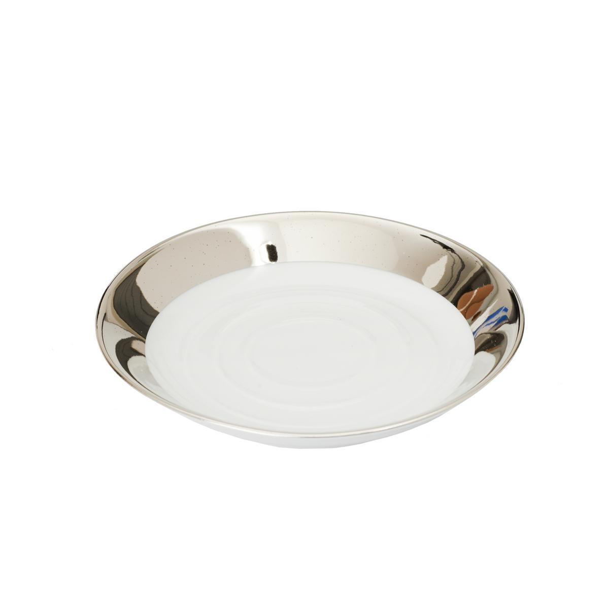Decor Walther Porcelain Soap Dish Platinum