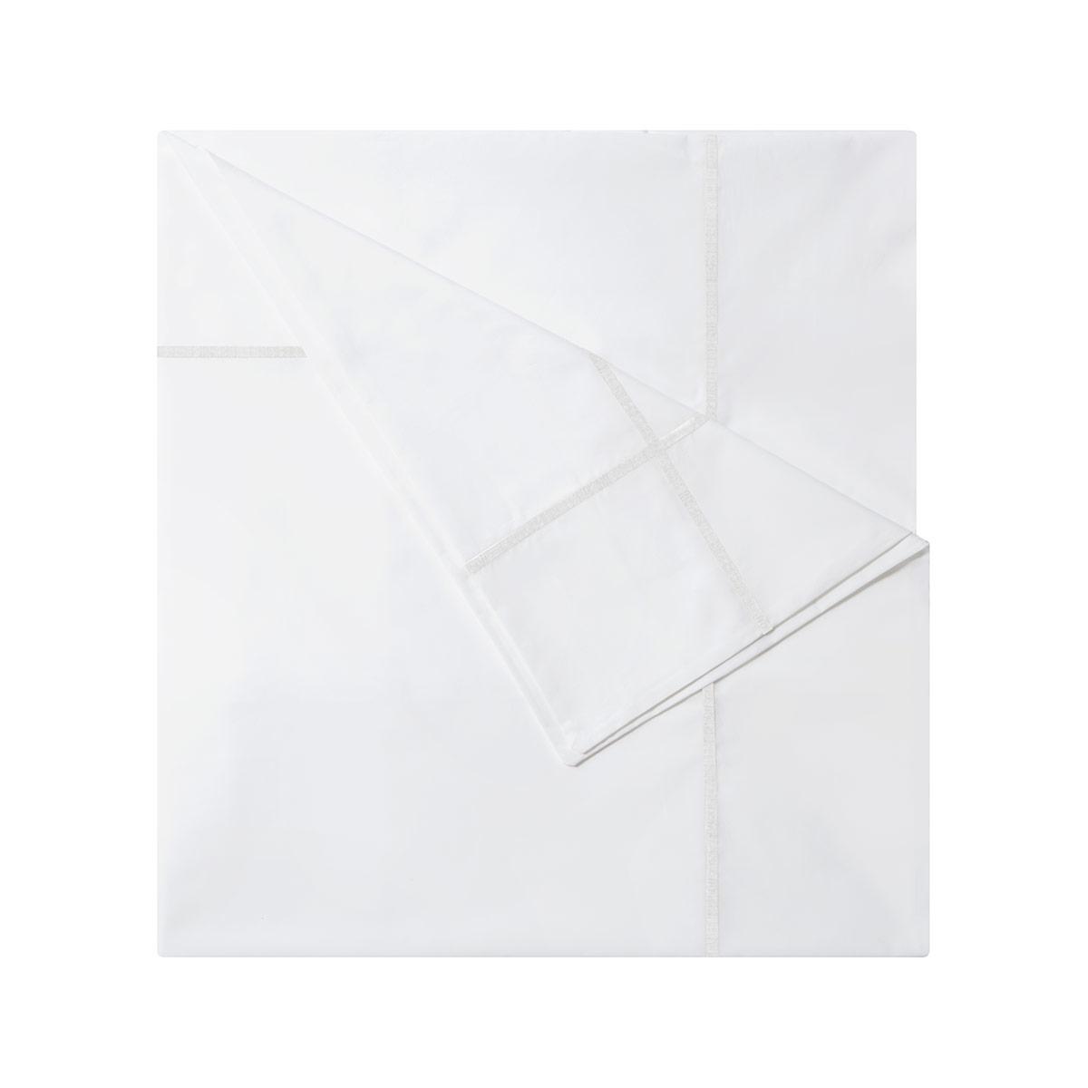 Yves Delorme Athena Duvet Cover White On White 200 X 200