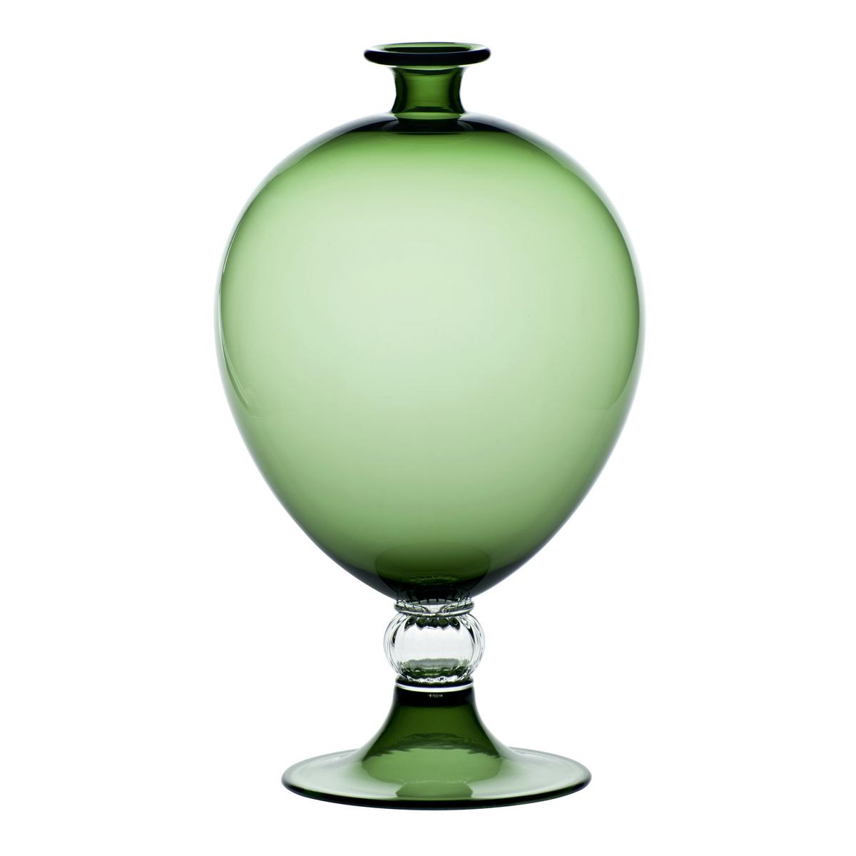 Venini Veronese Vase Apple Green Artedona