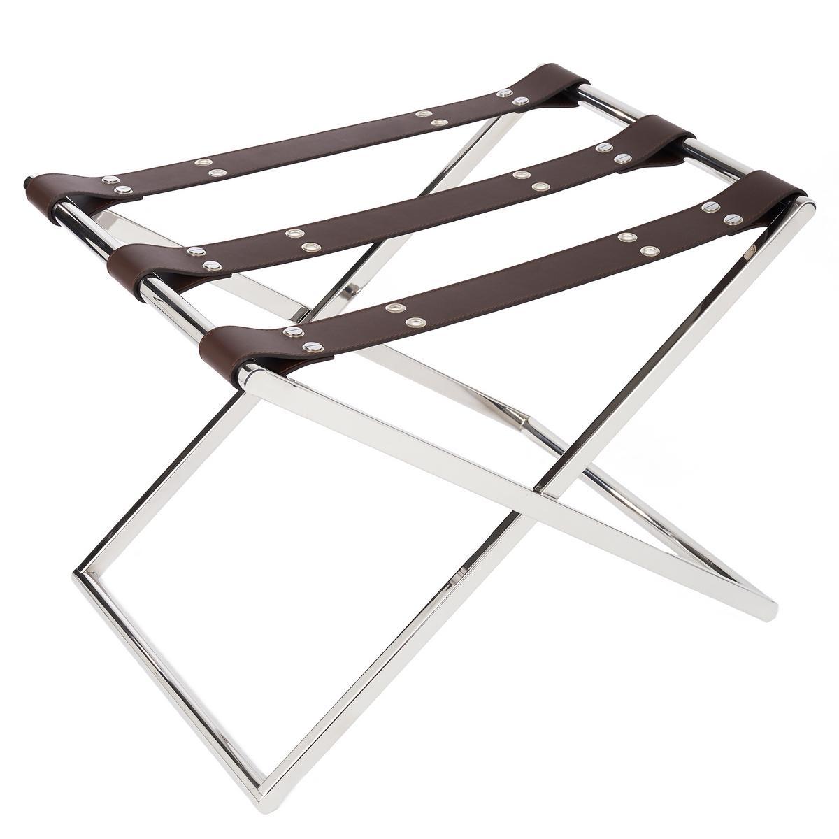 luggage rack for bedroom.  Riviere Straps luggage racks Artedona com