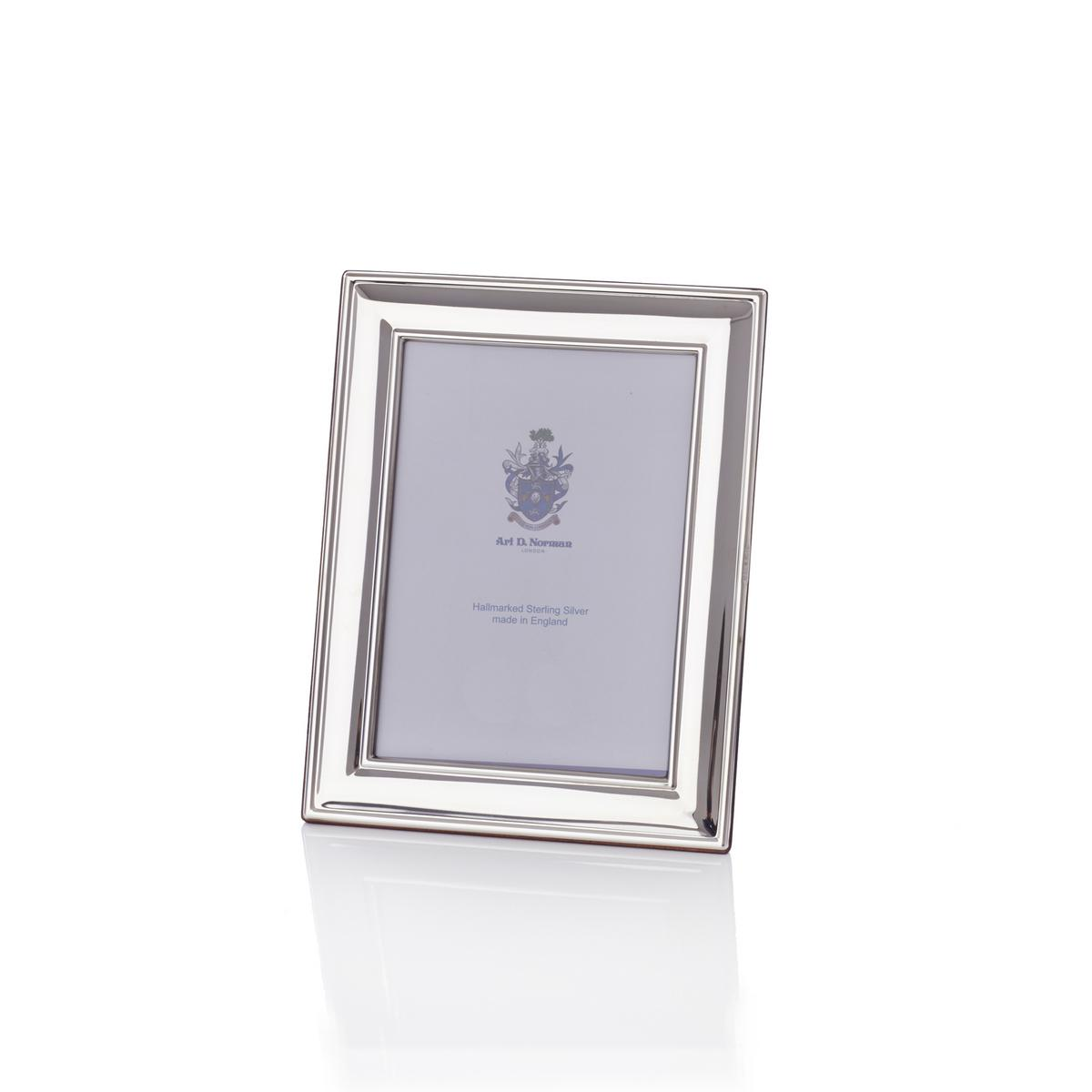 Classic Sterling Silver Picture Frame Approx 6 X 9 Cm 25 X 35