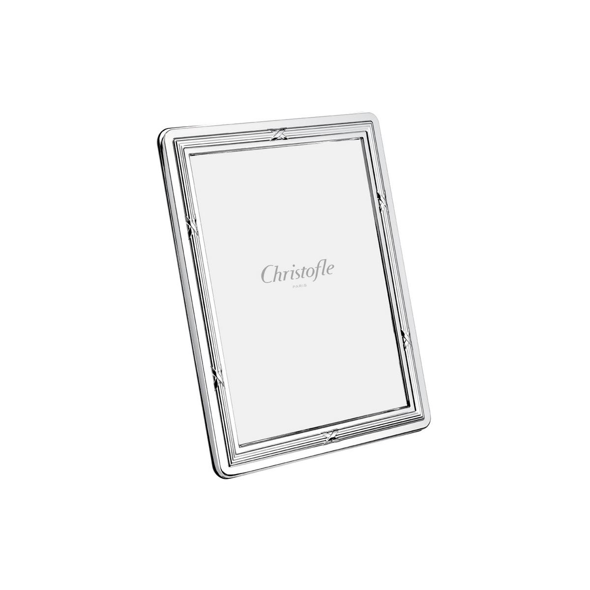 Christofle Rubans picture frame, silverplated, photo size 9 x 13 cm ...