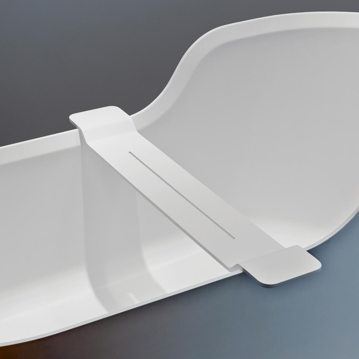 Decor walther stone bath tray for Decorative bathroom tray