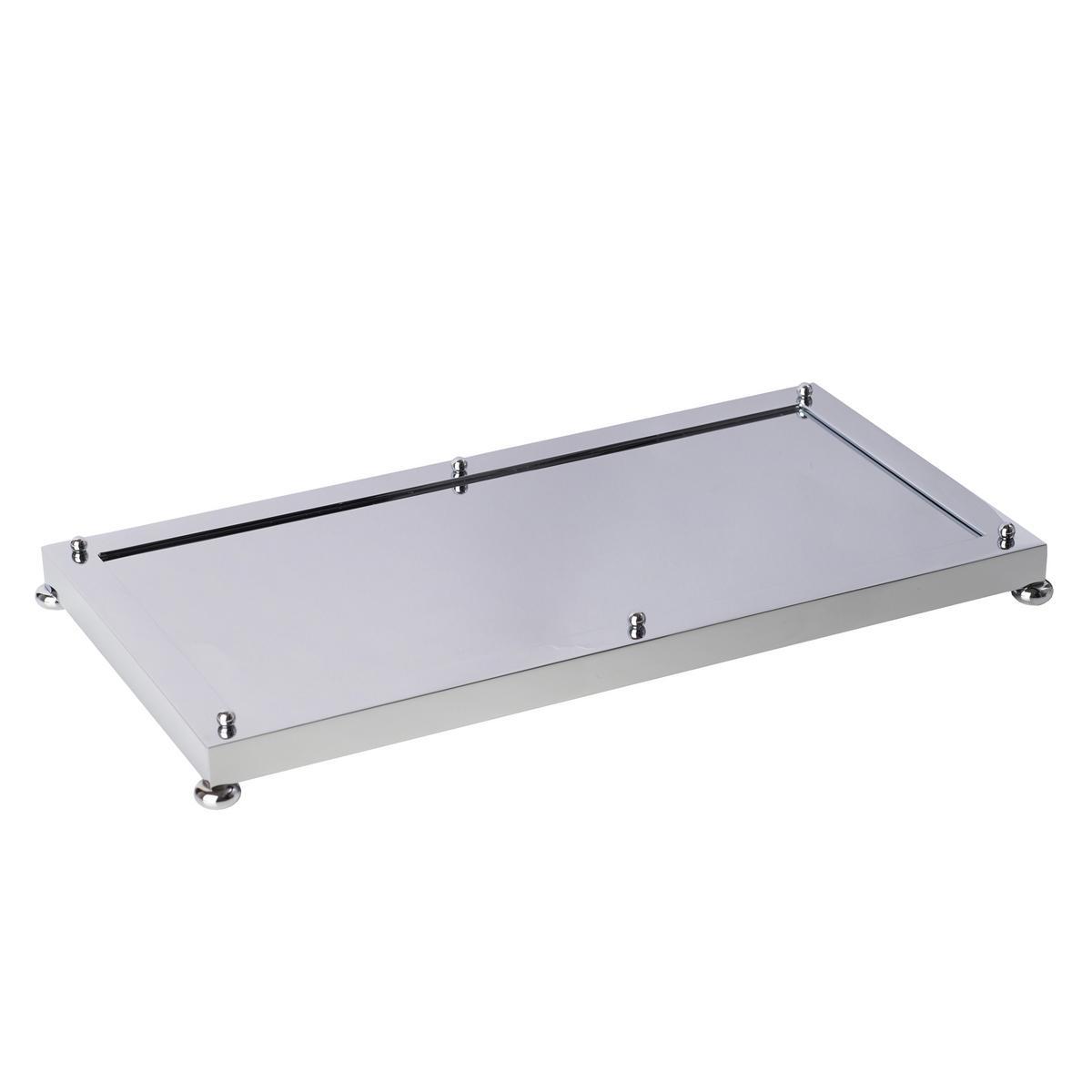 cristal et bronze chrome tray. Black Bedroom Furniture Sets. Home Design Ideas