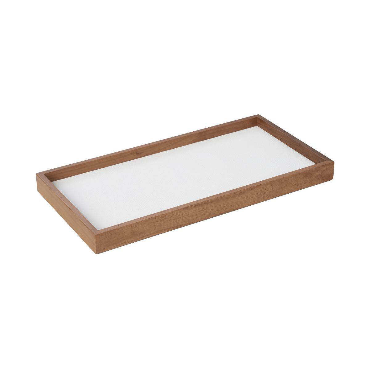 GioBagnara Phorma Rectangular tray rectangular small white
