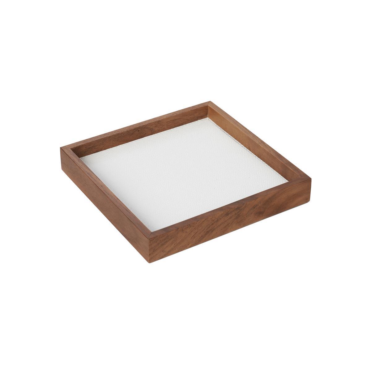 GioBagnara Phorma Rectangular tray square small white