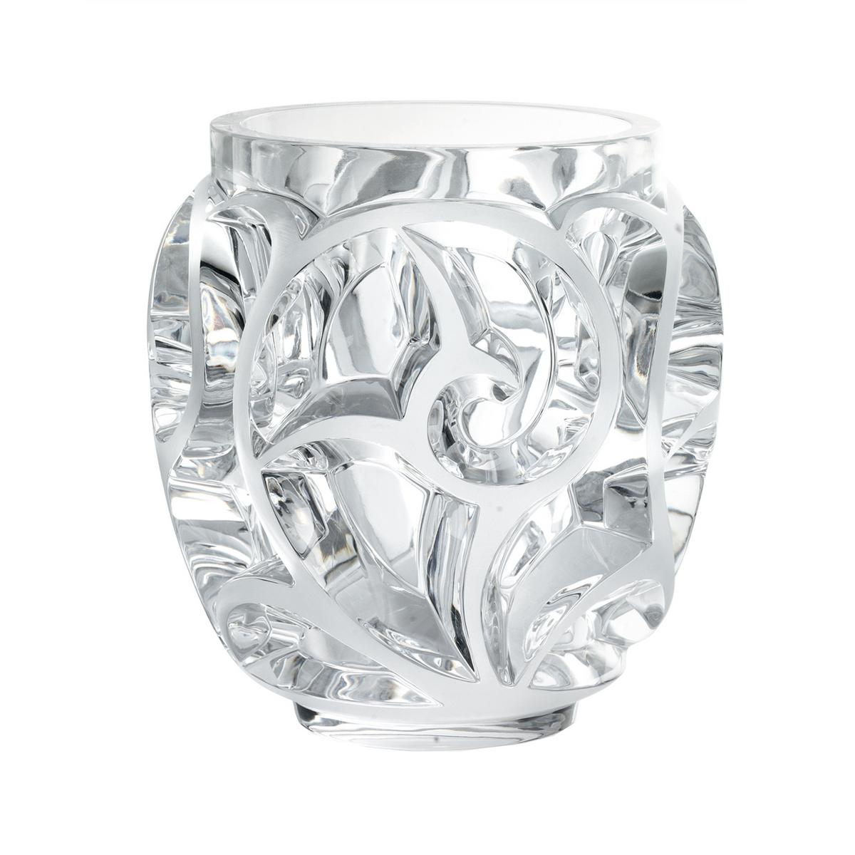 Lalique tourbillons vases for Lalique vase
