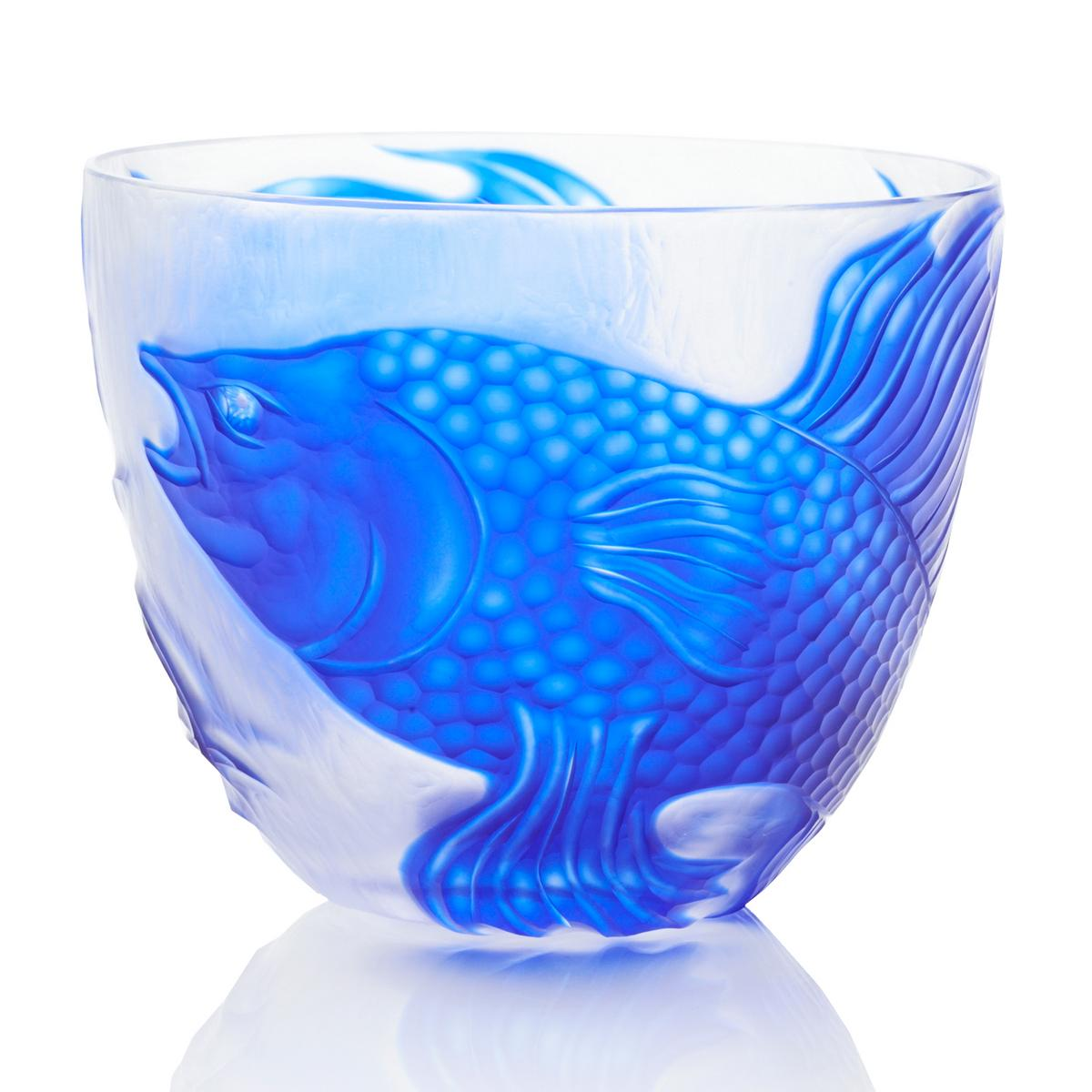 rotter glas siamese fighting fish bowl blue. Black Bedroom Furniture Sets. Home Design Ideas