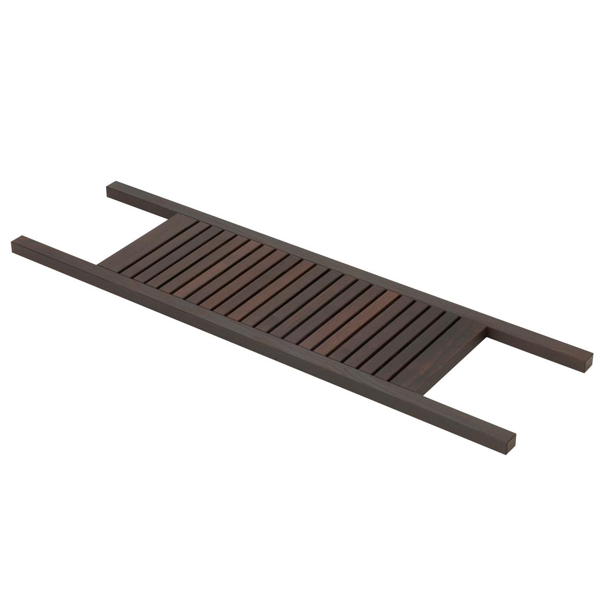 Decor walther wood bath trays for Bathroom tray