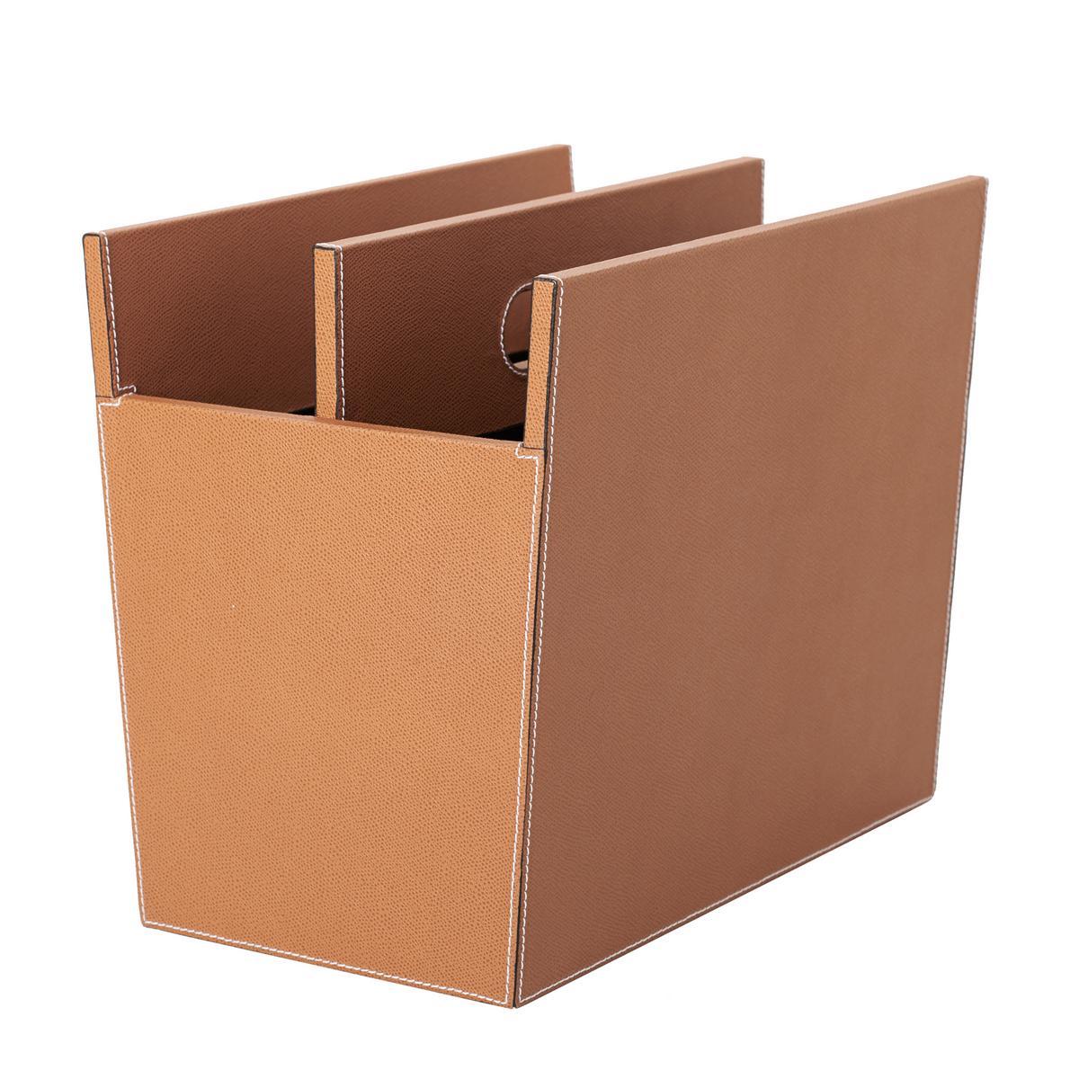 B Home Rivista magazine holder brown,20247_1