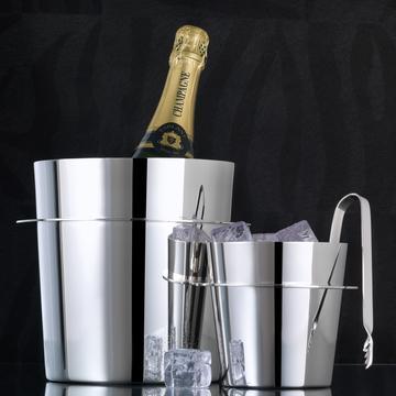 """Champagnerkühler & Eisbehälter """"Saturne"""""""