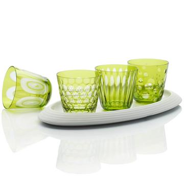 Light green tumblers, size M