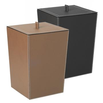 """Gio"" waste paper baskets with lid"