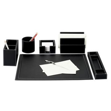 """Phil"" office accessories, black"