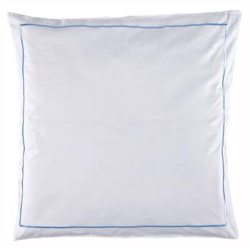 """Bettwäsche """"Satin Premium"""", weiß / blau"""
