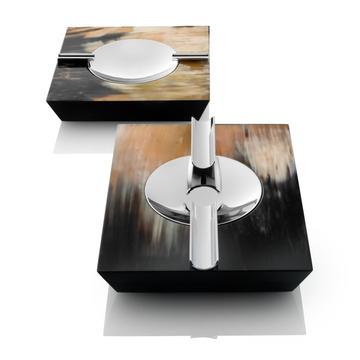 """Trapezium"" ashtrays & lighter"