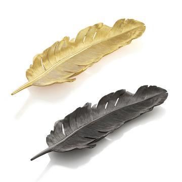 "Deko-Tabletts ""Feather"""