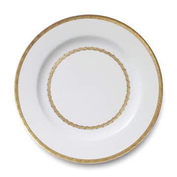 """Vannerie Gold"" presentation plate"
