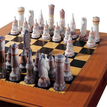 """Medieval"" chess set"
