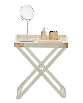 """""""Butler"""" tray table, ivory"""