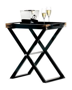 """""""Butler"""" tray table, black"""