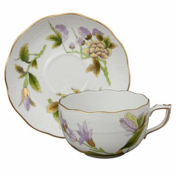 """Royal Garden"" Kaffee-/Teetasse mit Unterteller"