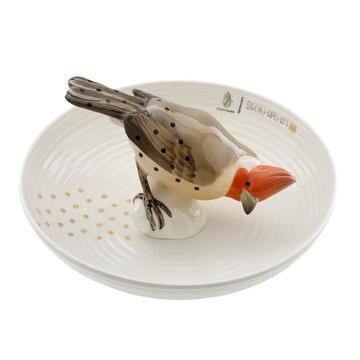 Tierschale mit Vogel